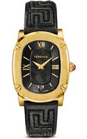Versace Couture Ionplated Yellow Gold Watch with Black Snakeskin Band 24mm - Lyst