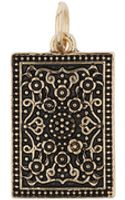 Topman Create Engraved Dog Tag Charm - Lyst