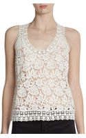 Madison Marcus Zing Lace Tank - Lyst