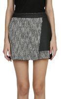 MSGM Twill Cotton Shorts - Lyst