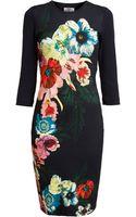 Erdem Floral Jersey Dress - Lyst