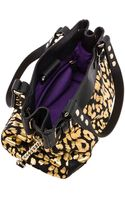 Juicy Couture Beverly Leopard Daydreamer Tote in Metallic Gold - Lyst