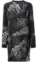 Tibi Printed Dress - Lyst
