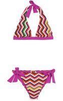 Missoni Mare Crochetknit Bikini - Lyst