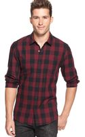 Guess Plaid Shirt - Lyst