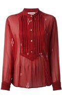 Etoile Isabel Marant Striped Blouse - Lyst