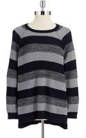 Two By Vince Camuto Striped Raglan Sweater - Lyst