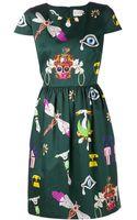 Mary Katrantzou Julie Print Dress - Lyst