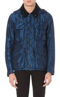 C P Company Goggledetailed Field Jacket Blue - Lyst