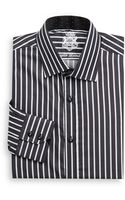English Laundry Bicolored Striped Dress Shirt - Lyst