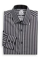 English Laundry Bicolored Striped Dress Shirt - Lyst