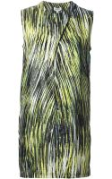 Kenzo Printed Shift Dress - Lyst