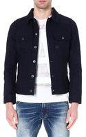 G-star Raw Slimfit Komari Denim Jacket 3d Raw - Lyst