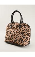 Armani Jeans Leopard Print Tote - Lyst