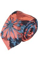 Brooklyn Tailors Floral Jacquard Neck Tie - Lyst