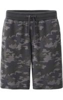 Uniqlo Men Sweat Printed Short Pants - Lyst