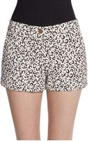 Tibi Cheetahprint Shorts - Lyst
