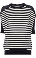 Karen Millen Oversized Stripe Knit Jumper - Lyst