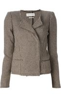 Etoile Isabel Marant Pied Coq Fitted Jacket - Lyst