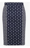French Connection Modern Mosaic Pencil Skirt - Lyst
