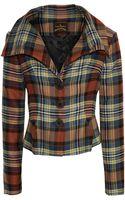 Vivienne Westwood Anglomania Eva Tartan Jacket - Lyst