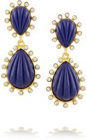 Kenneth Jay Lane Goldplated Swarovski Crystal and Resin Drop Earrings - Lyst