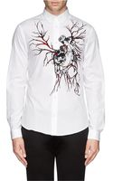 McQ by Alexander McQueen Screw and Ribcage Print Shirt - Lyst