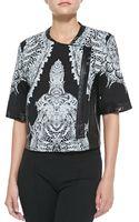 Helmut Lang Urchinprint Sweatshirt Jacket - Lyst