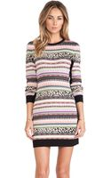 RED Valentino Long Sleeve Sweater Dress - Lyst