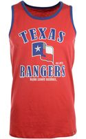 47 Brand Mens Texas Rangers Tank - Lyst