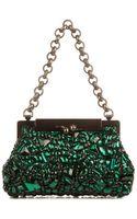 Dolce & Gabbana Sara Crystalembellished Bag - Lyst