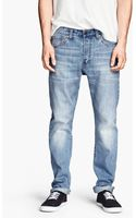 H&M Tapered Jeans - Lyst