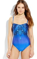 Gottex Sultan One-piece Swimsuit - Lyst