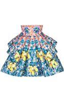Mary Katrantzou Printed Flared Skirt - Lyst