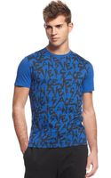 Versace Jeans Logo Graphic T-shirt - Lyst