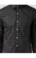 Rag & Bone Mini Cross Print Shirt - Lyst