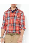 Ralph Lauren Polo Plaid Matlock Workshirt Slim Fit - Lyst