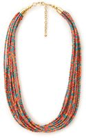 Forever 21 Be Seen Beaded Necklace - Lyst