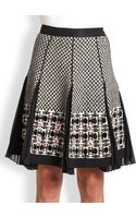 Antonio Marras Pleated Knit Skirt - Lyst