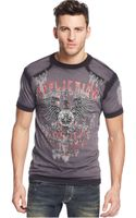 Affliction Secure Taped T-shirt - Lyst