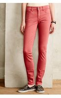 Pilcro Stet Sateen Ankle Jeans - Lyst