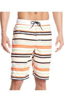 Tommy Hilfiger Remington Striped Boardshort - Lyst