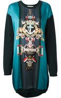 Mary Katrantzou Pigeon Medal Sweater Dress - Lyst