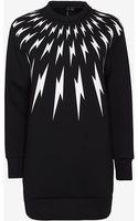 Neil Barrett Thunder Bolt Print Sweatshirt - Lyst