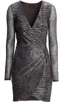 H&M Wraparound Dress - Lyst