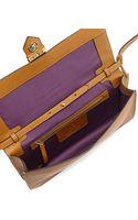 Linea Pelle Astor Metal Embellished Clutch Bag - Lyst