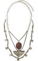 Nasty Gal Getting Medieval Necklace - Lyst