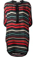 Etoile Isabel Marant Striped Dress - Lyst