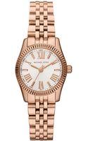 Michael Kors Ladies Lexington Rose Goldtone Watch - Lyst