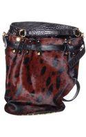 Alexander Wang Diego Leopard Bucket Bag - Lyst